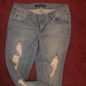 FashionNova skinny jeans